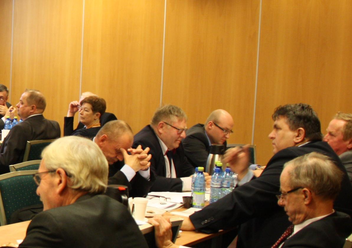 Przedstawicielka Rady Kobiet na II posiedzeniu KRIR V kadencji
