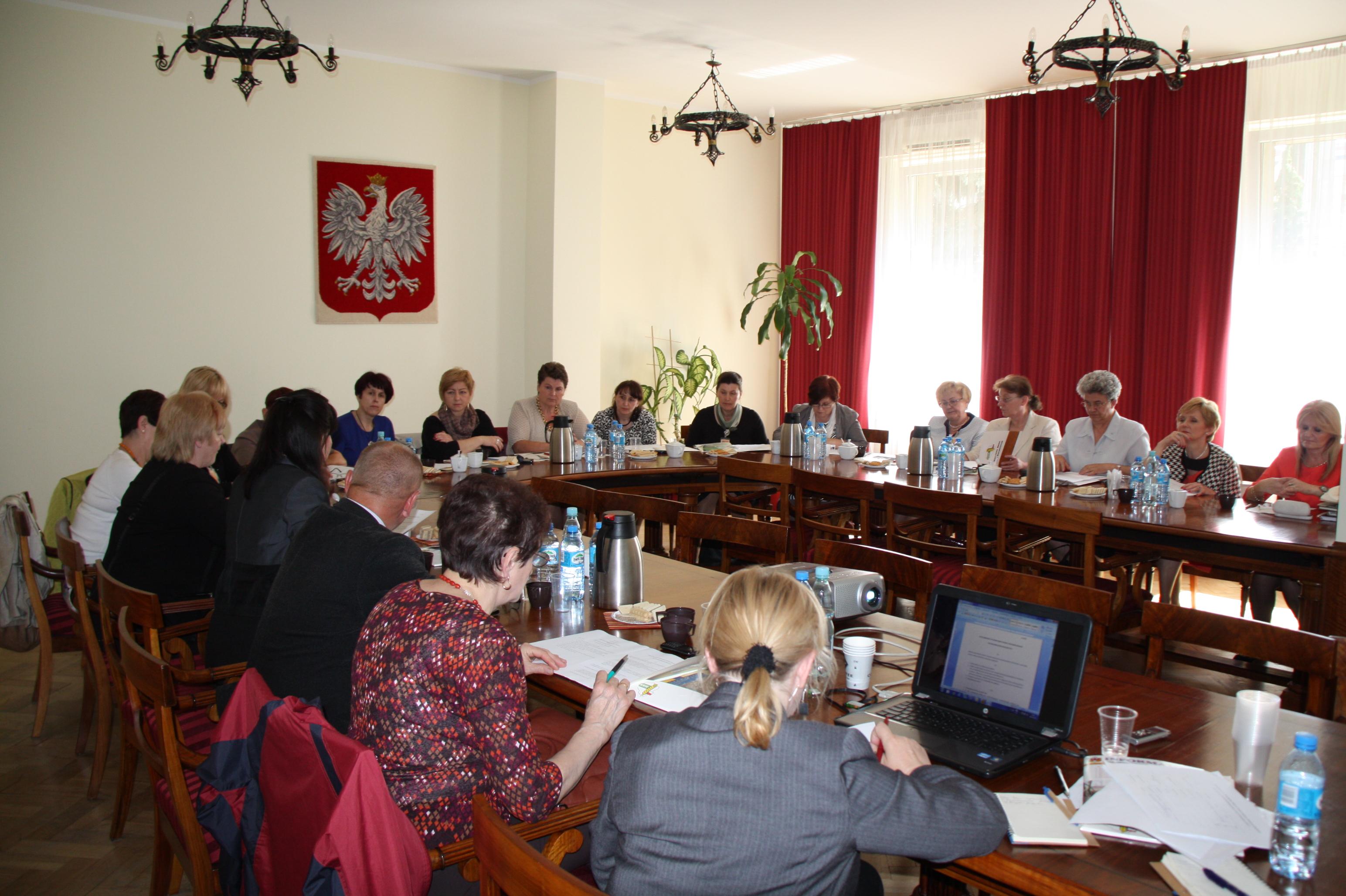 I Posiedzenie Rady ds. Kobiet i Rodzin z Obszarów Wiejskich przy Krajowej Radzie Izb Rolniczych