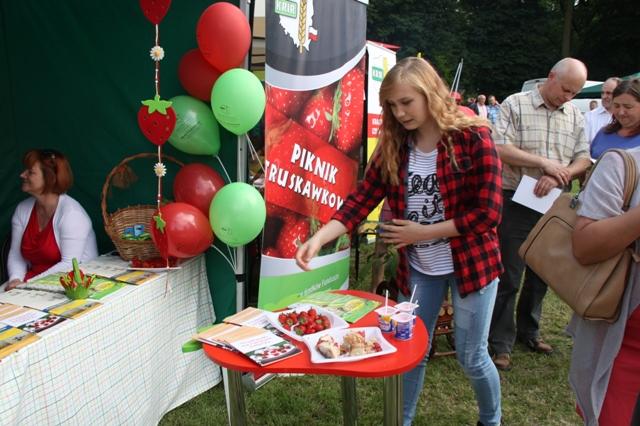 Piknik Truskawkowy KRIR w Buczku