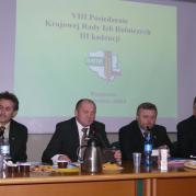 VIII Posiedzenie KRIR III kadencji 10.12.2008