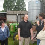 Wizyta francuskich rolników w pow. płockim 24.06.2009
