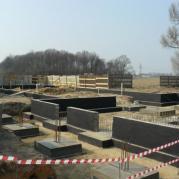 Wmurowanie kamienia węgielnego, Parzniew 25.03.2015 r.