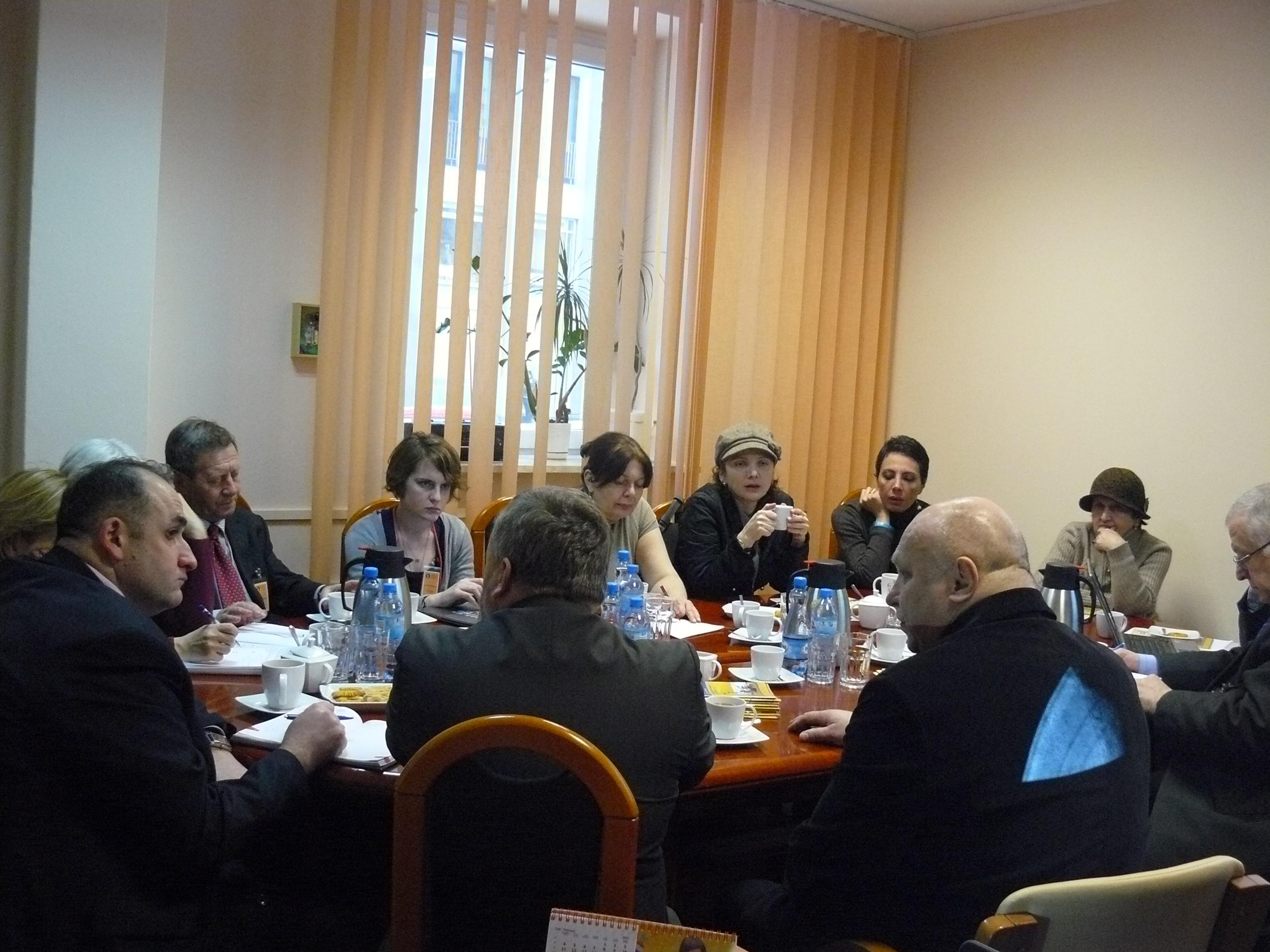 Wizyta studyjna gruzińskiej delegacji
