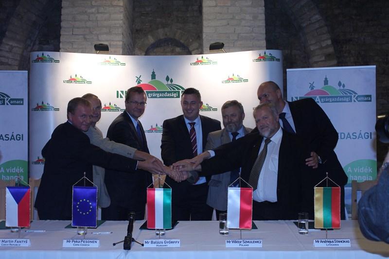 50. Posiedzenie izb rolniczych państw grupy wyszehradzkiej, Szekszard (Węgry)