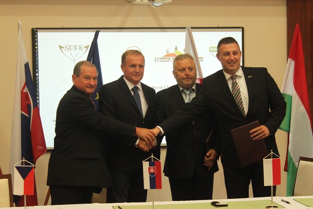 58.Posiedzenie izb rolniczych państw grupy wyszehradzkiej na Słowacji
