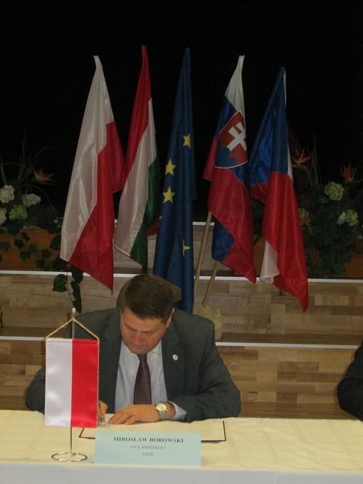 59. posiedzenie przedstawicieli izb rolniczych państw grupy wyszehradzkiej na Węgrzech