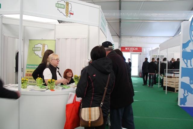 KRIR na Targach AGROTECH 2015 w Kielcach