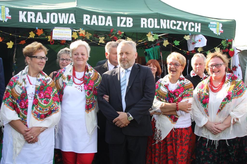 KRIR na Dożynkach Prezydenckich w Spale, 2015 r.