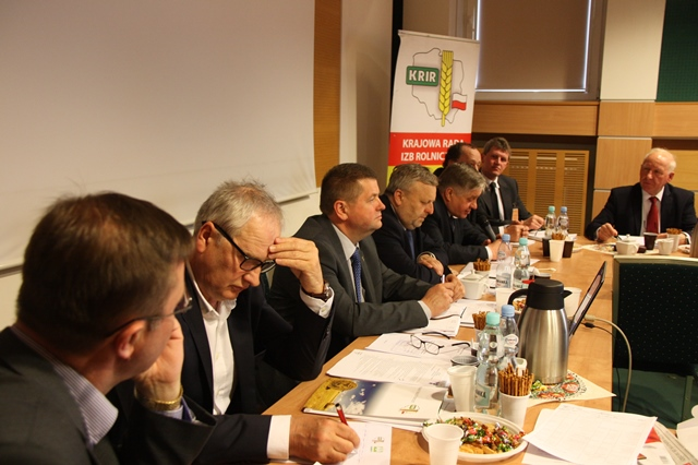 IV Posiedzenie Krajowej Rady Izb Rolniczych V kadencji