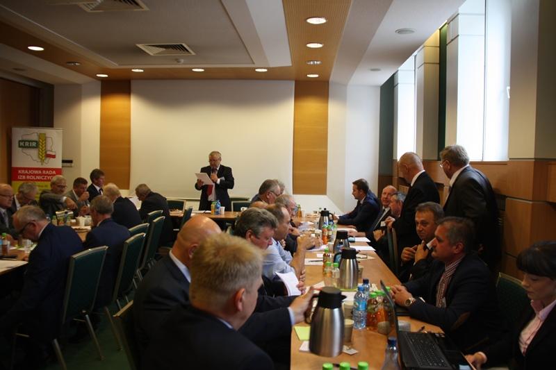 I Posiedzenie KRIR V kadencji – wybrano władze