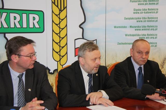 Konferencja prasowa Prezesa wraz z Zarządem KRIR nt. bieżącej sytuacji w rolnictwie