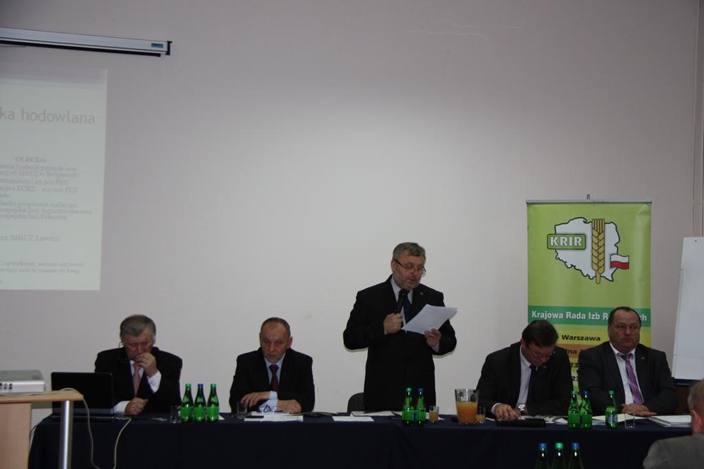 XI Posiedzenie Krajowej Rady Izb Rolniczych