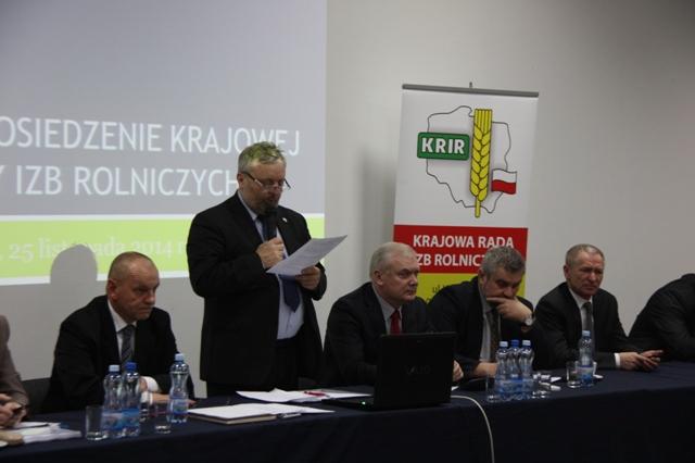 XV Posiedzenie Krajowej Rady Izb Rolniczych IV kadencji