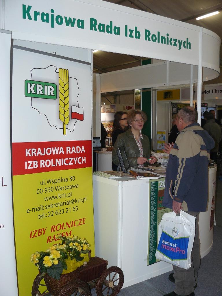 KRIR na Targach AGROTECH 2013 w Kielcach