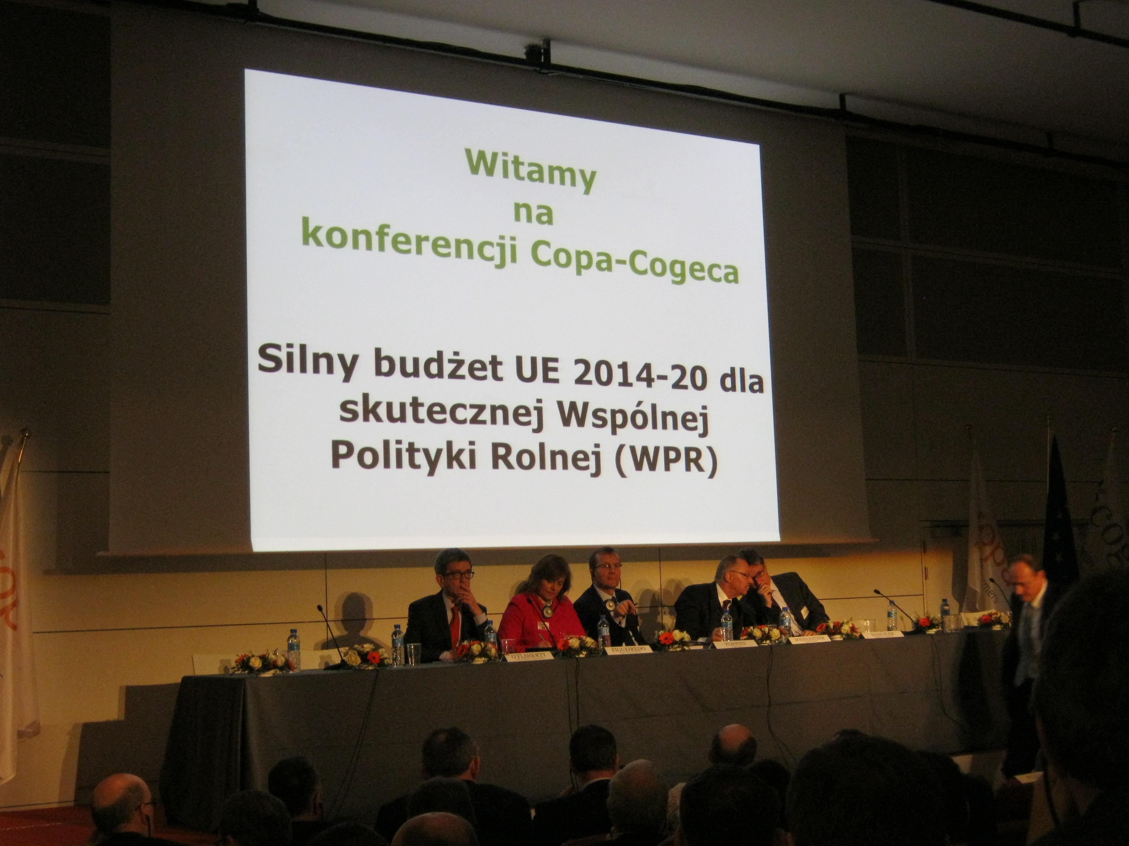 Samorząd rolniczy bierze udział w nadzwyczajnym Posiedzeniu Prezydiów Copa-Cogeca