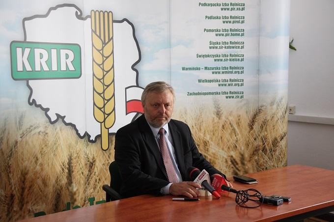 Prezes KRIR w sprawie zaproponowanego przez Rząd RP pakietu pomocy dla rolników poszkodowanych przez suszę