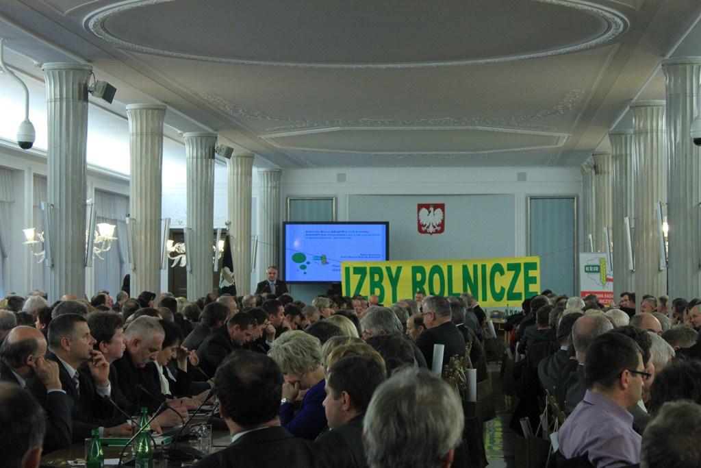 O roli Izb Rolniczych w kształtowaniu krajowej oraz unijnej polityki rolnej