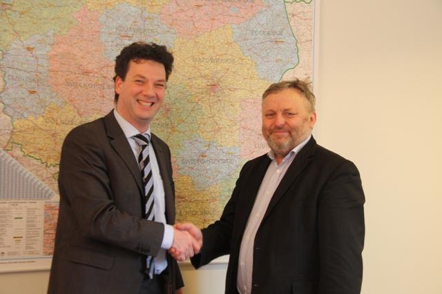Rozmowy o współpracy w Ambasadzie Królestwa Niderlandów