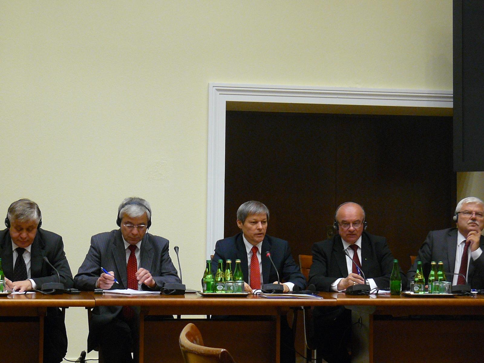 Spotkanie z komisjarzem UE ds. Rolnictwa i Rozwoju Wsi Dacianem Ciolosem