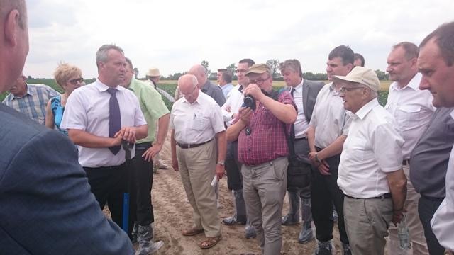 Spotkanie producentów ziemniaków wczesnych w powiecie sieradzkim